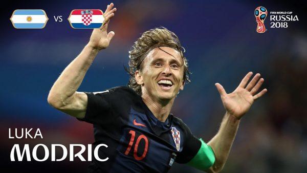 Argentina x Croácia - Gol de Luka Modric
