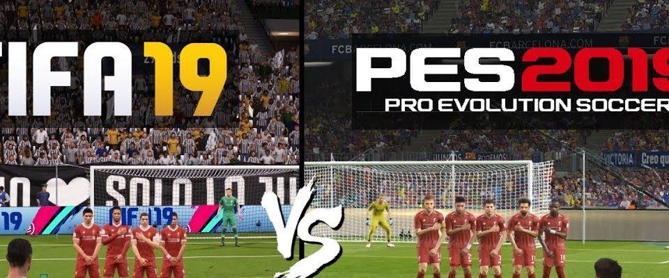 FIFA 19 X PES 19: Entenda as principais diferenças entre os dois games