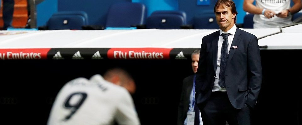 Real Madrid demite técnico Julen Lopetegui