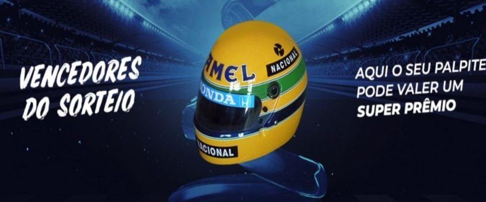 Hamilton vence mais uma e capacete do Senna vai para SP