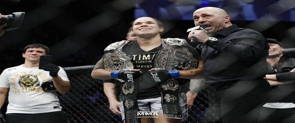 UFC 232: Amanda Nunes conquista algo inédito no MMA