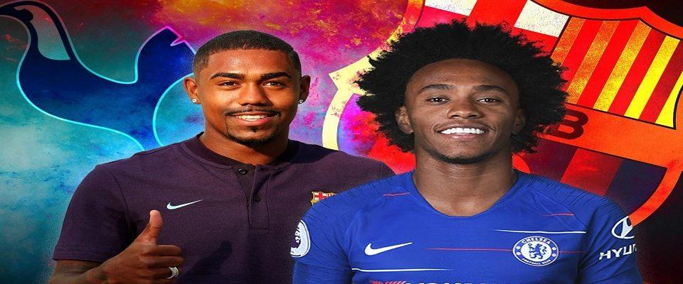 Barcelona e Chelsea: A possível troca de Malcom por Willian
