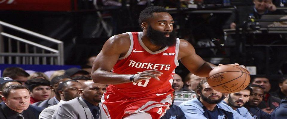 NBA: Harden alcança marca histórica em vitória dos Rockets