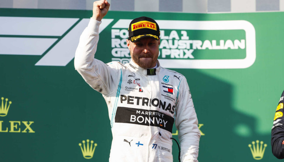 GP da Austrália: Bottas ganha na abertura da Fórmula 1