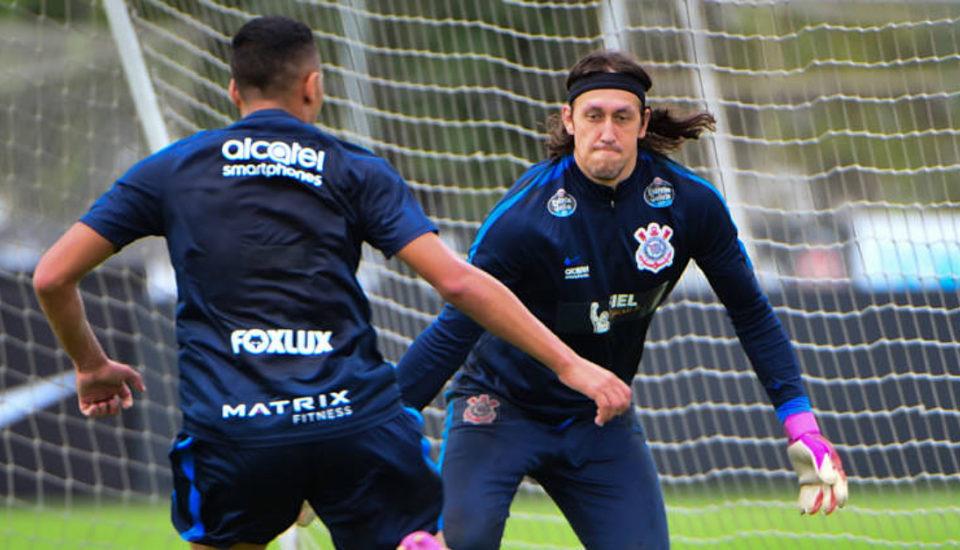 400 vezes Cássio como goleiro do Corinthians