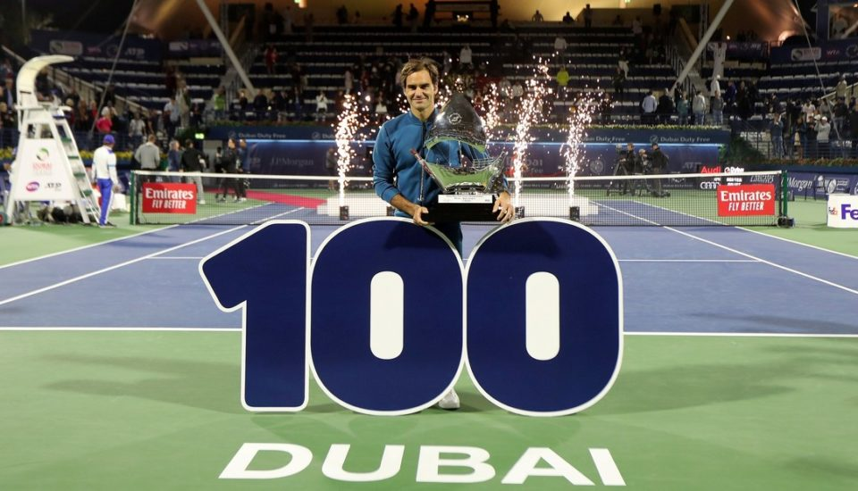 Um gênio no tênis: 100 vezes Roger Federer