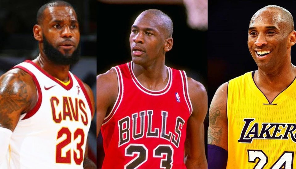 Kobe, Jordan ou LeBron? Quem é o melhor história da NBA