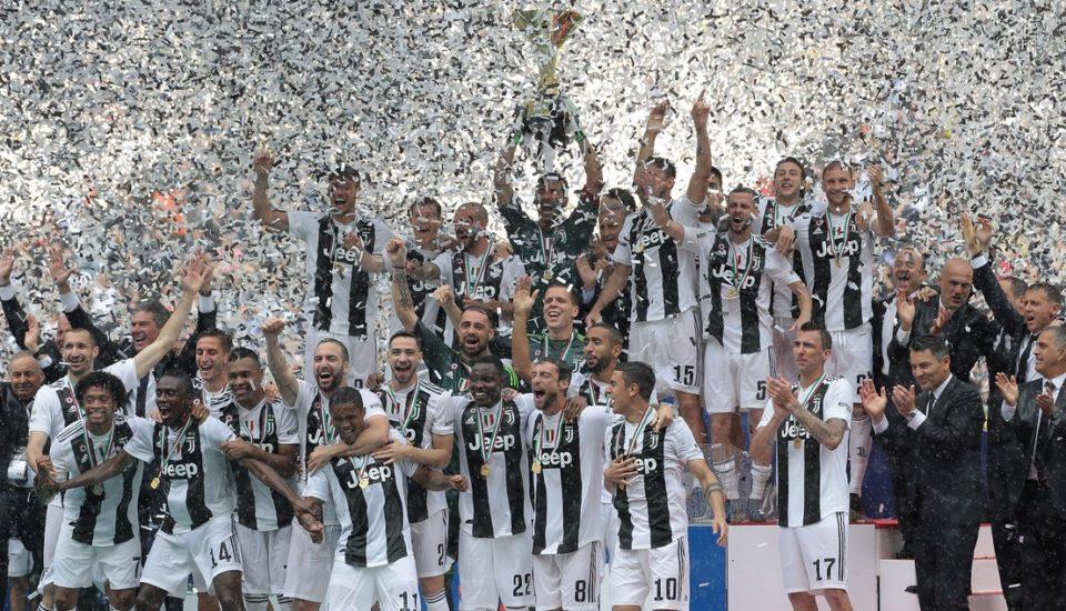 Octa na Itália: Juventus é campeã após vitória de virada
