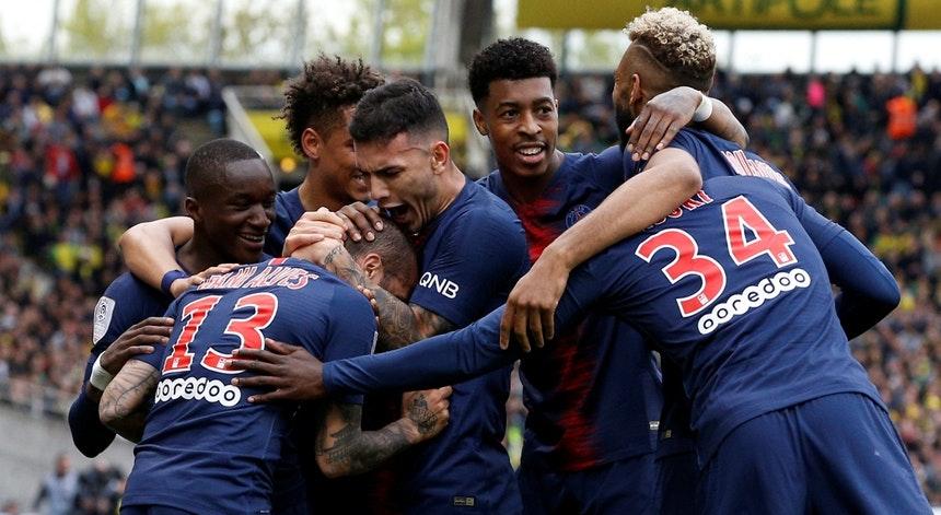 PSG conquista Campeonato Francês com cinco rodadas de antecipação