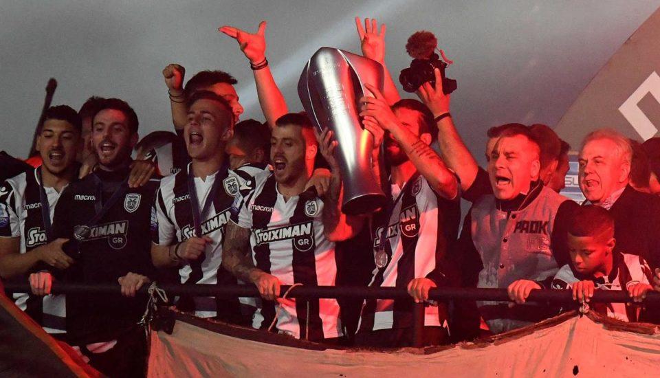 34 anos depois, PAOK é campeão grego