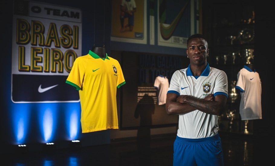 Os novos uniformes da Seleção Brasileira