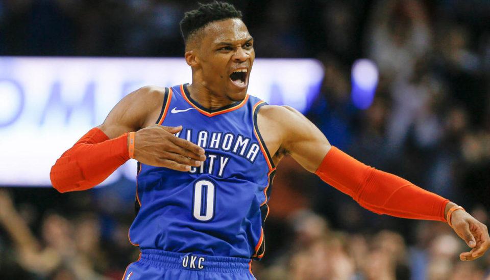 NBA: Westbrook e uma média de triple-double