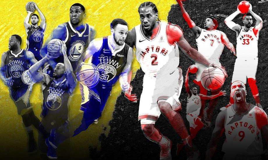 Decisão NBA: Warriors e Raptors confrontos na história