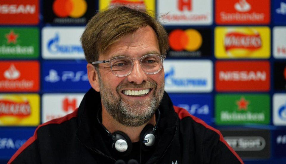 Klopp: treinador e a sua terceira final de Champions League