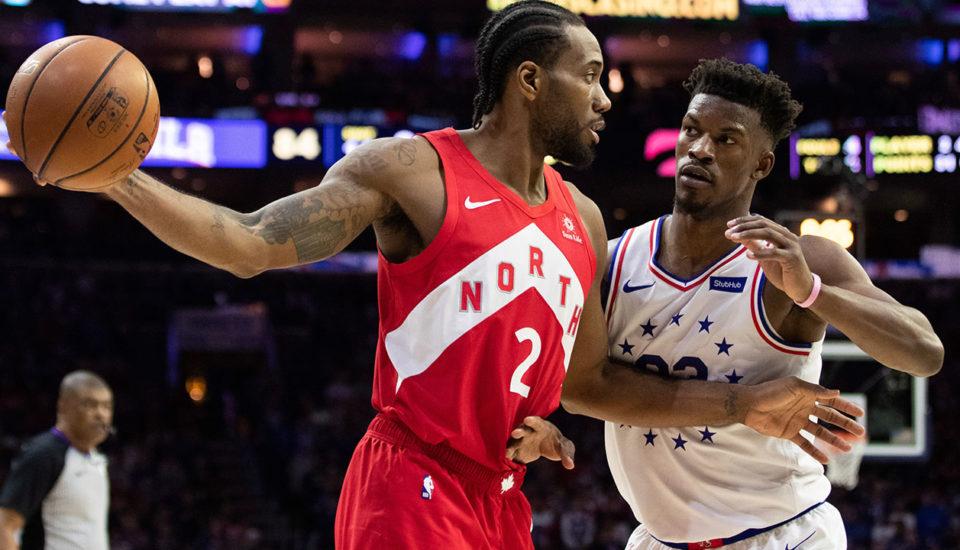 NBA: Raptors derrotam os 76ers e empatam a série