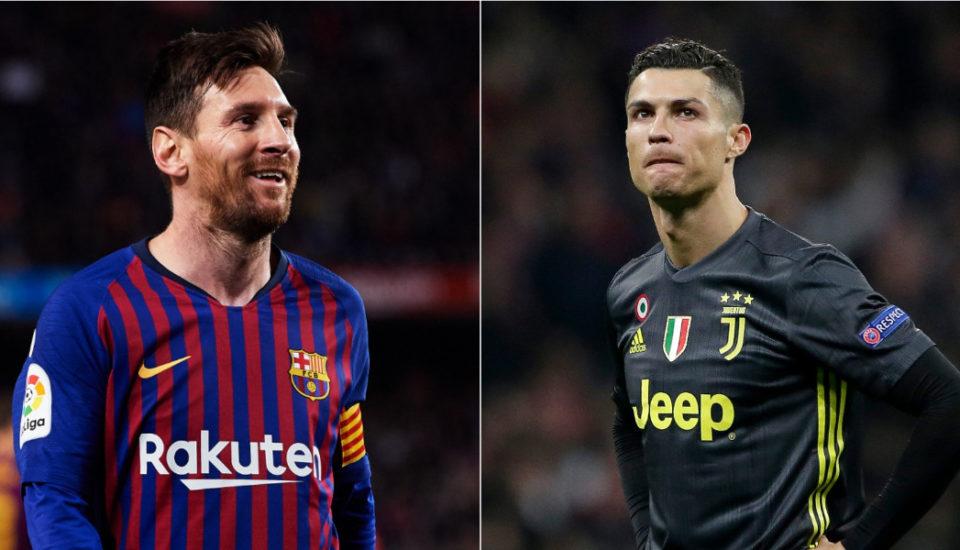 Messi vs Cristiano Ronaldo: números da temporada 2018/19